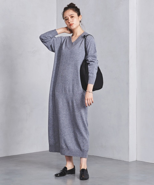 <SACRA>針織 連身洋裝