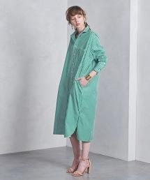 特別訂製<TICCA>條紋大尺碼襯衫洋裝