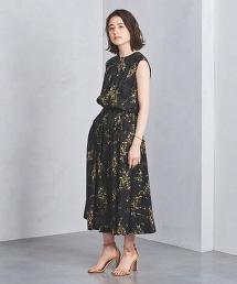 <SACRA>印花無袖洋裝