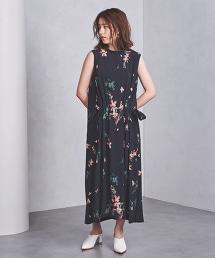 <SACRA> 印花 無袖洋裝