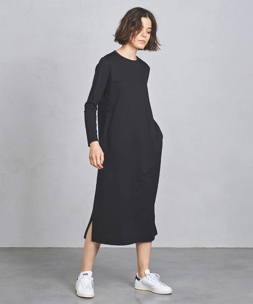 UWSC C/P 開衩 T恤式洋裝