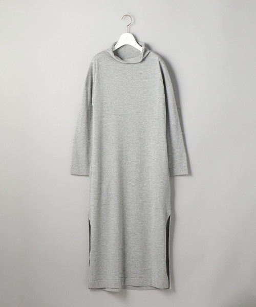 UWSC 高領開衩針織連身裙