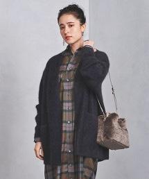 UWSC 絨毛 中長版 對襟外套