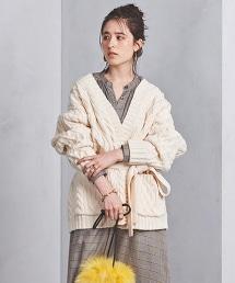 UWSC 麻花 絲瓜領對襟外套†