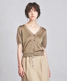 UBCE 絲線 短袖 對襟外套