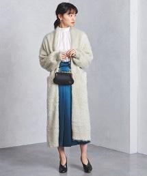 <Marilyn Moon>刷毛 長版對襟外套