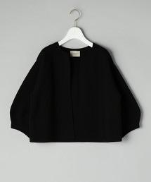 UBCS 無鈕釦 圓領 對襟外套