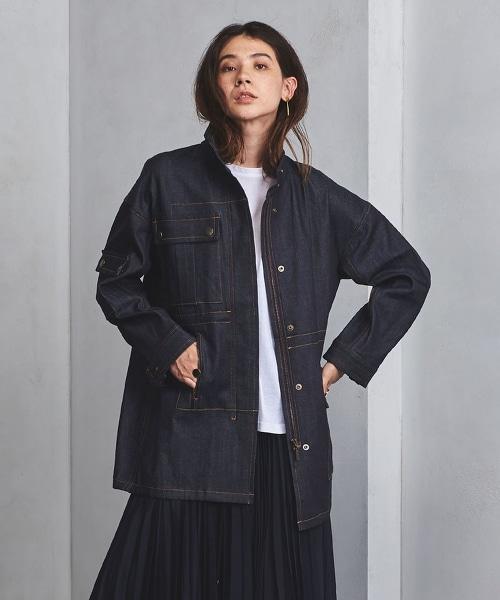 <Yasutoshi Ezumi>M-65型丹寧外套