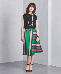 <near.nippon>橫條紋及膝裙