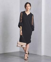 特別訂製<FLICKA>蕾絲8分袖洋裝