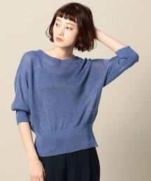 BY 7G七分袖寬版針織套頭衫