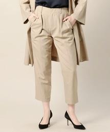 BY 斜紋織雙折線9分褲