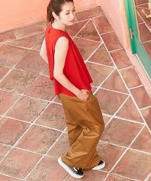 【特別訂製】<Dickies>寬版工裝褲