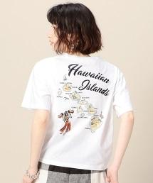 BY 夏威夷刺繡T恤