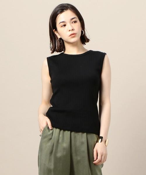 BY 蘇文棉 羅紋 無袖 T恤