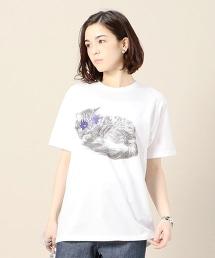 <Paratiisi>KATE 貓咪印花T恤