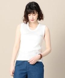 BY 寬版羅紋無袖T恤