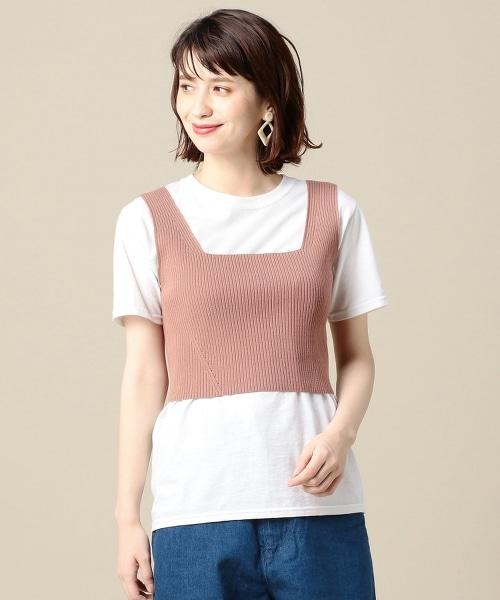 BY 羅紋短版背心