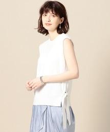 BY 7G側邊蝴蝶結無袖針織衫