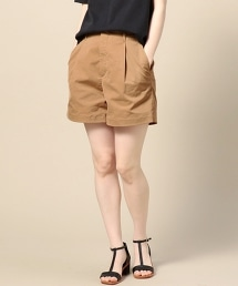 BY 斜紋純色短褲