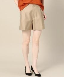 BY 斜紋厚絨棉質打褶短褲