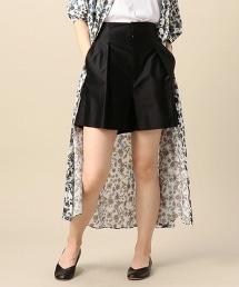 BY 斜紋厚絨棉質打褶褲裙