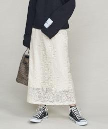 BY 蕾絲長窄裙