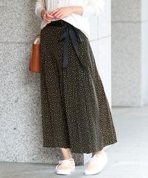 BY∴ 圓點褶裙