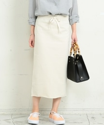BY∴ 厚棉毛圈布窄裙