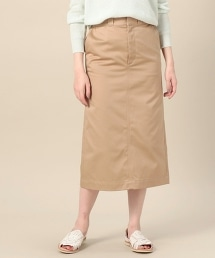 BY T/C斜紋布彩色窄裙