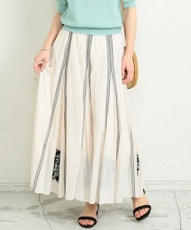【特別訂製】<ne Quittez pas>刺繡荷葉長裙