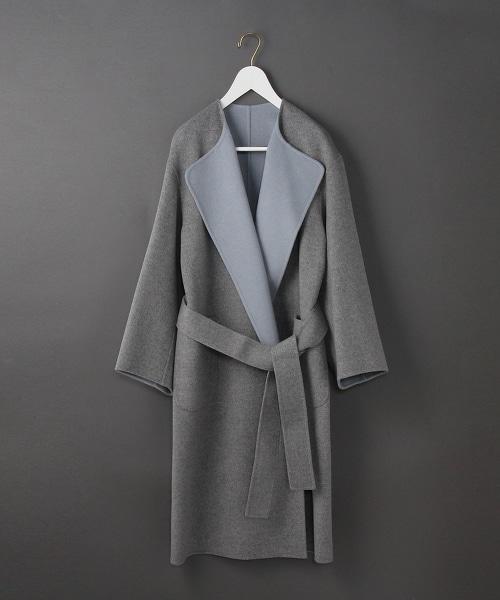 <6>REVER SEWING GOWN COAT/大衣
