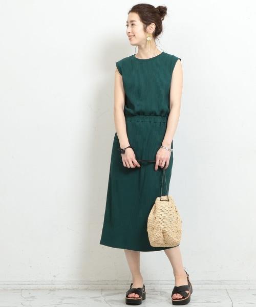 BY∴ 羅紋無袖連身裙 -可手洗-