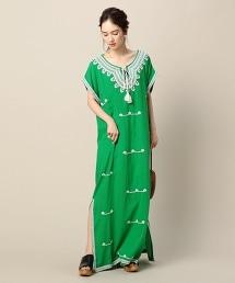 <STAR MELA>卡夫坦風 連身洋裝