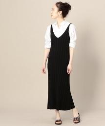 BY 針織吊帶連衣裙