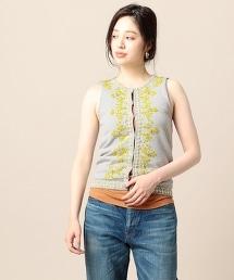 <dahl'ia>串珠編織開襟衫