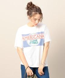 <Americana>平面設計T恤