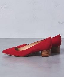 <PELLICO>尖頭方型粗跟PUMPS包鞋