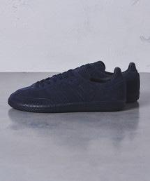【特別訂製】<adidas> SAMBA NAVY MENS†