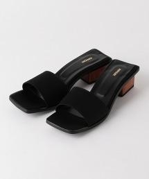 【特別訂製】<PIPPICHIC>方形鞋面穆勒鞋
