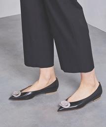 <PIPPICHIC>ANNA 水鑽 平底包鞋