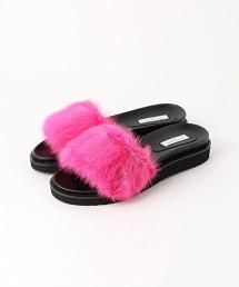 UWMF 貂毛款涼鞋