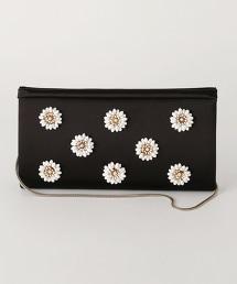 UPCE 花朵裝飾手拿包