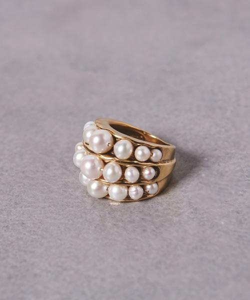 <GOOSSENS Paris>珍珠戒指