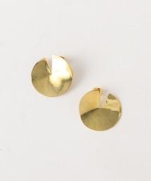 <SOKO>SIA金色鉚釘耳環