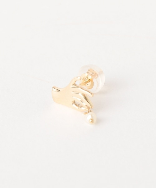 <AURORA GRAN>MANO手型耳環