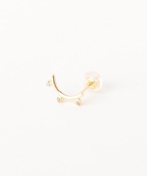 <AURORA GRAN>SEED造型單側耳釘