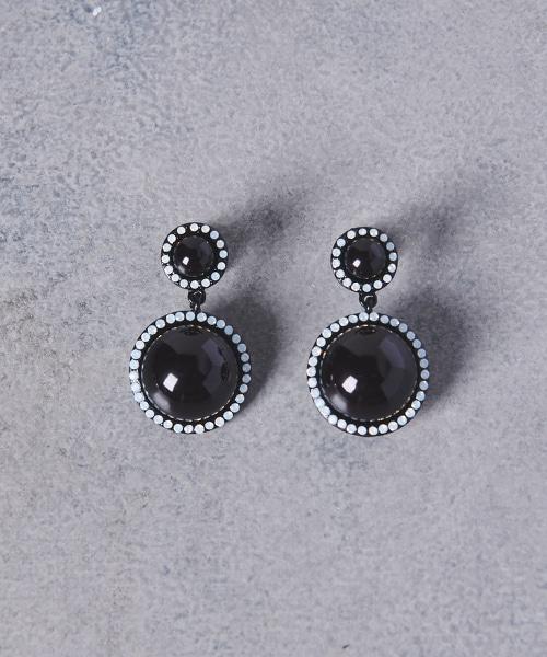 UWCB 雙寶石耳環
