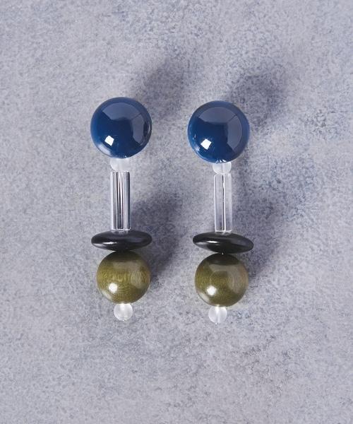 UWCS 木質寶石耳環