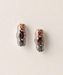 UBCE 三粒人造鑽石耳釘